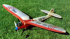 [Translate to English:] Motorflugmodell HS 100
